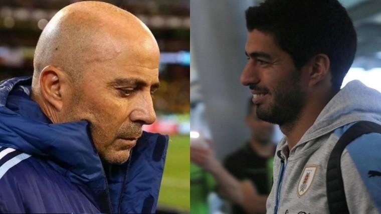 Uruguay y Argentina empataron en el clásico