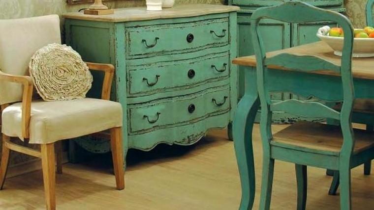 Decoraci n recicl tus muebles antiguos - Muebles antiguas de segunda mano ...