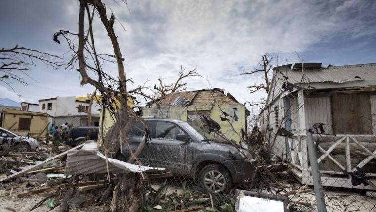 Buscan a un argentino tras el huracán en St. Martin