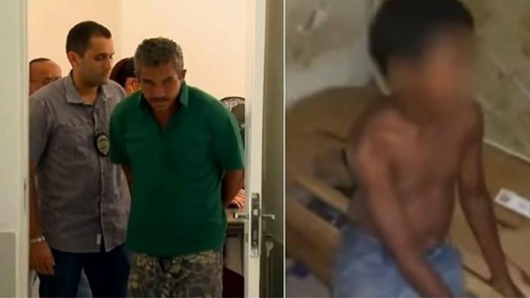 Dejaron a su hijo de 13 años en la misma celda de un pedófilo para — Vaya cruel castigo