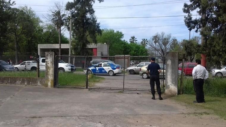 Quedó filmado el momento de la fuga en la cárcel de Pérez