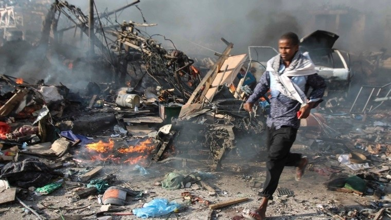 Suman 231 muertos por atentado — Somalia