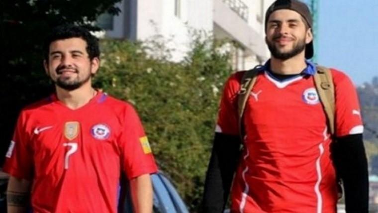 Dos chilenos hacia Rusia a pie aunque quedaron fuera del Mundial