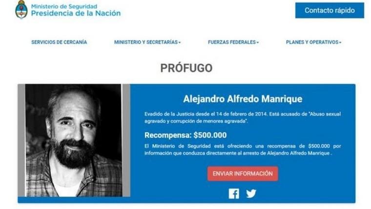Detienen al violador más buscado del país en Córdoba