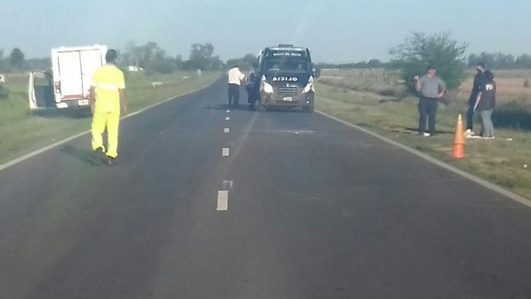 Brutal asesinato de tres hombres en la autopista Buenos Aires-Rosario
