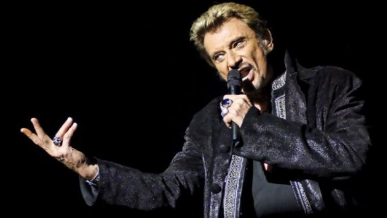 Muere el rockero francés Johnny Hallyday
