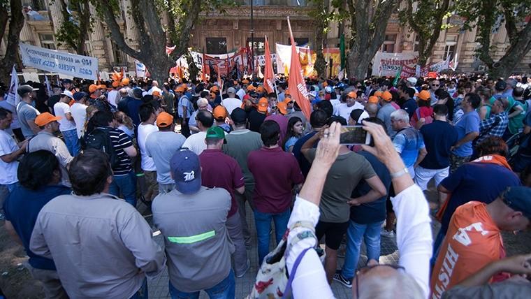 La movilización fue contra las reformas que impulsa el Ejecutivo nacional.