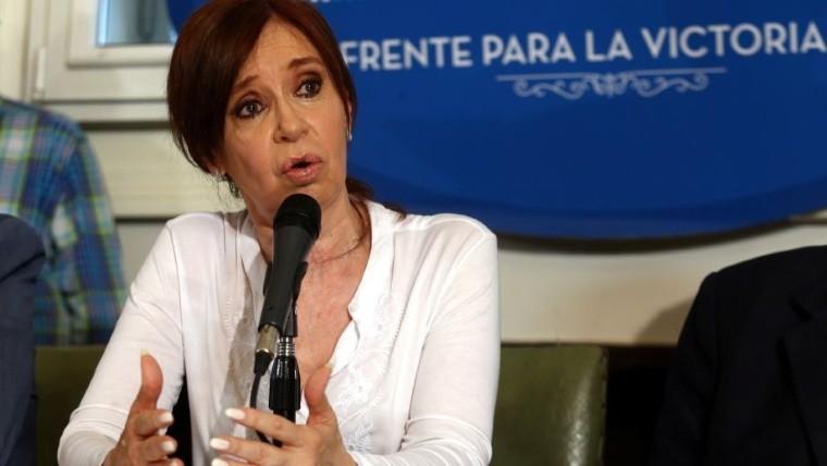Acusan a Cristina Fernández de