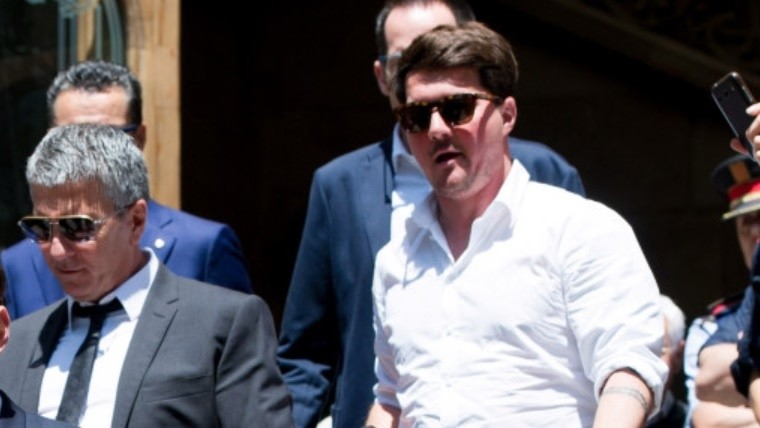 Tras recibir el alta, Matías Messi cumple prisión en su casa
