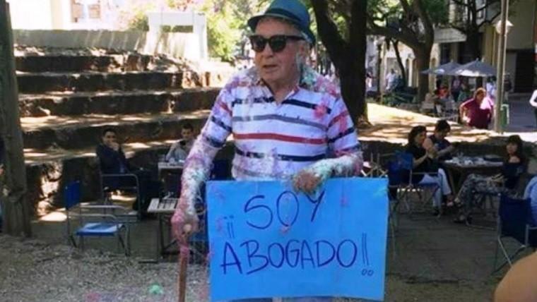 El festejo de Eduardo.
