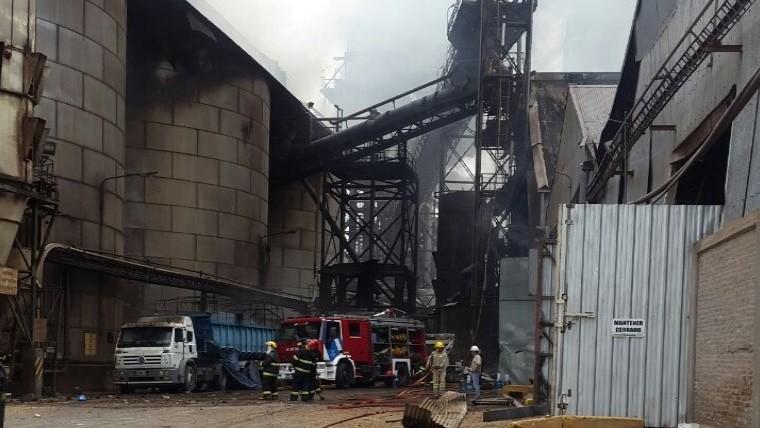 Varios heridos, siete graves, al explotar una cerealera en Santa Fe
