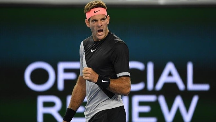 Ganó Del Potro y pasó a la segunda ronda del Australian Open
