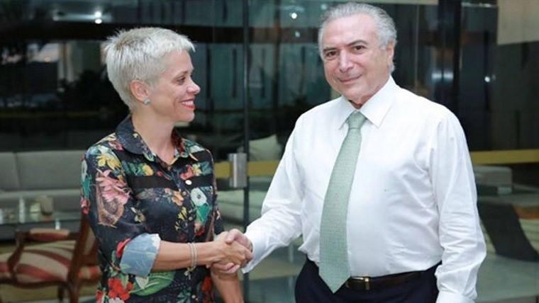 Impiden asunción de ministra brasileña por el mismo