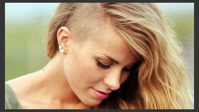 Peinados rapado lado mujer