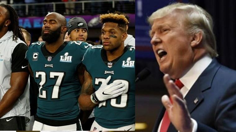 Trump rompe la tradición en el Super Bowl LII