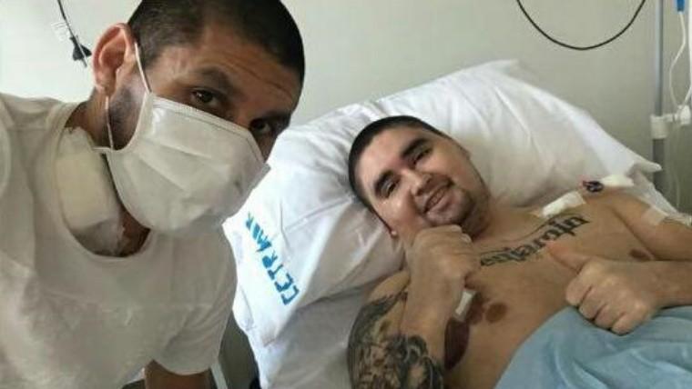 Cristian Villagra y su hermano fueron operados con éxito — Enorme gesto