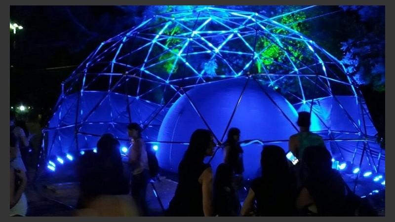 Invitan A Docentes A Experimentar El Planetario Móvil Rosario3