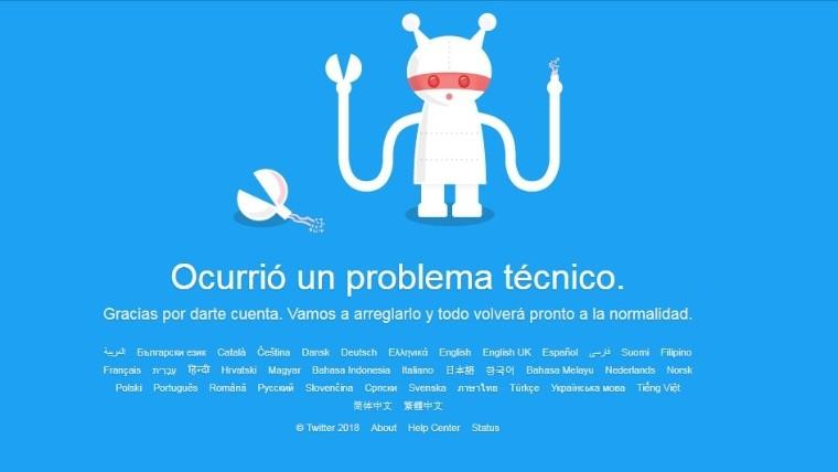 No es tu cuenta: Twitter cayó en varios países del mundo