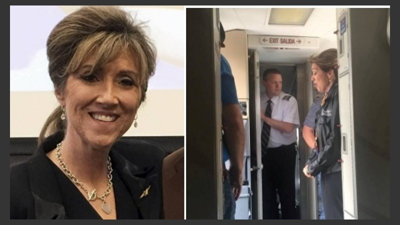 La capitana del accidentado vuelo de Southwest, Tammie Jo Shults.