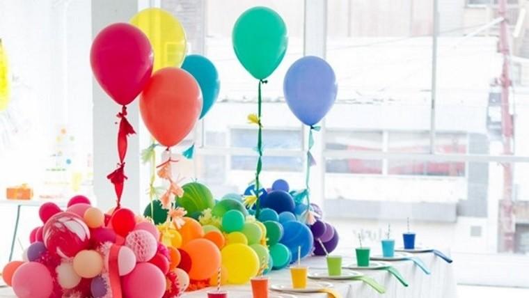 De fiesta Ideas fciles y originales para decorar con globos