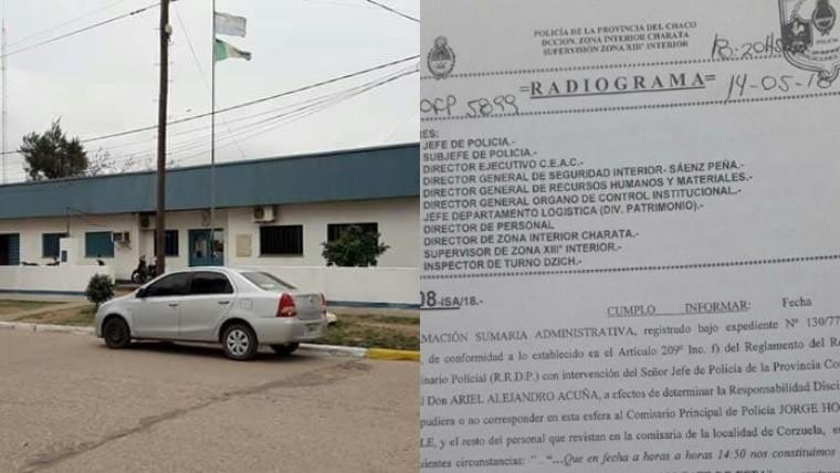 Escándalo en Chaco por el nombre del wifi de una comisaría