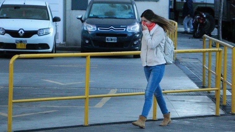 Sigue vigente el alerta meteorológico por fuertes vientos para Mar del Plata