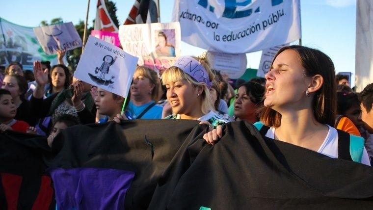 Ni Una Menos: las fotos de la marcha al Congreso