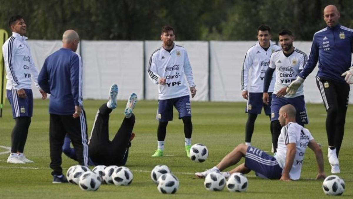 Sampaoli despeja dudas para el debut de Argentina ante Islandia ...