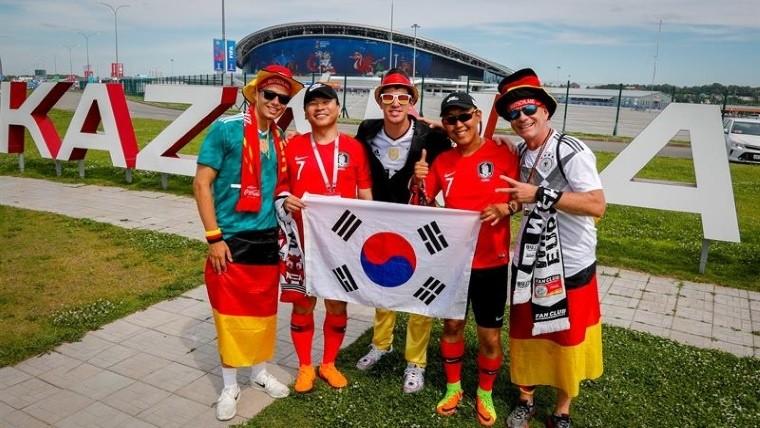 Sentimos no jugar como campeones del mundo: Alemania a aficionados