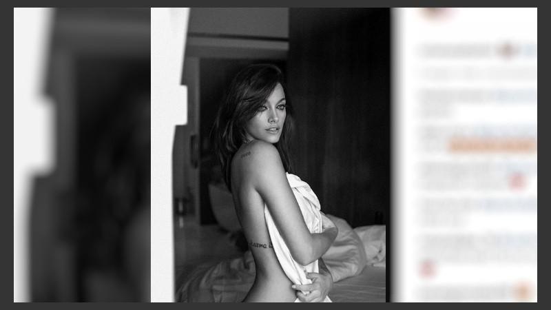 Oriana Subió Una Foto Desnuda Y Dybala Comentó Rosario3com