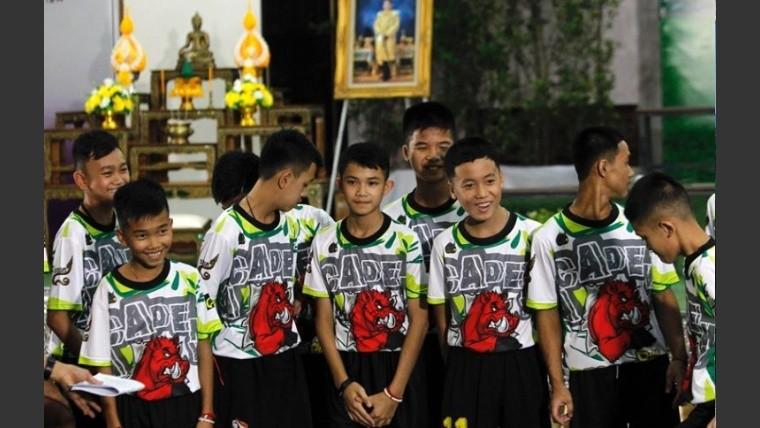 Hablan por primera vez los niños rescatados en Tailandia: fue un