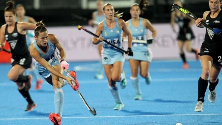 Las Leonas vencieron a Nueva Zelanda y clasificaron a cuartos