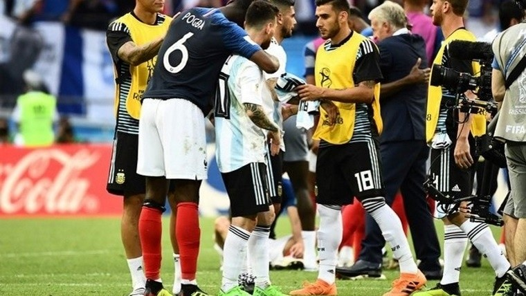 Pogba, cerca de ser compañero de Messi en Barcelona