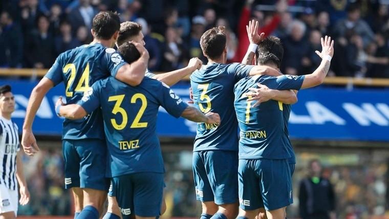 Con muy poco, Boca debutó ganando ante Talleres en la Bombonera