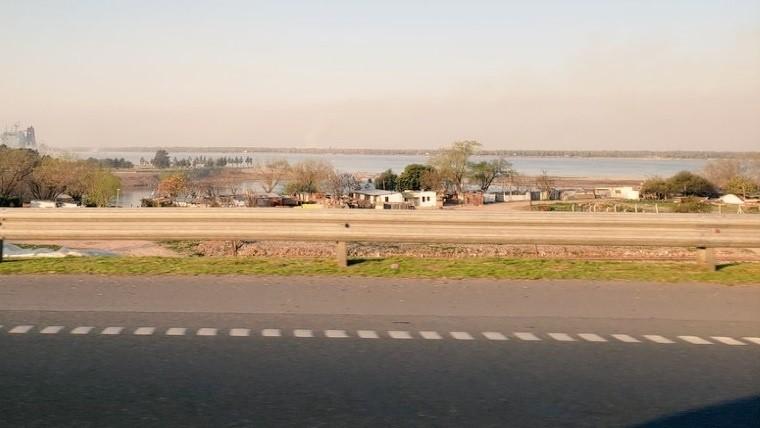 Las islas de Entre Ríos volvieron a generar molestias en la ciudad.
