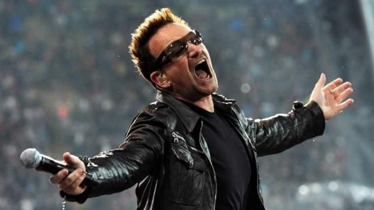 Rock&Pop: Bono se queda sin voz en concierto en Alemania