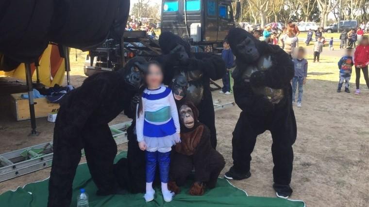 Rosario: denunciaron a un circo por maltrato animal, eran personas disfrazadas
