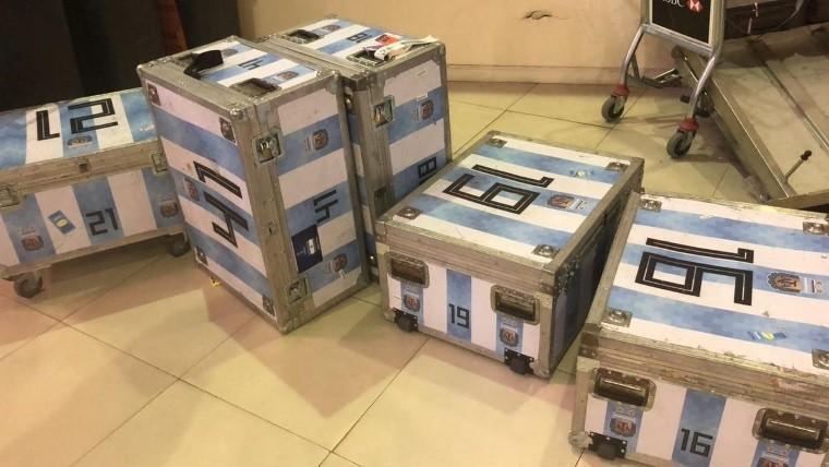 Aduana incautó equipos electrónicos de la Selección de Argentina que no declararon