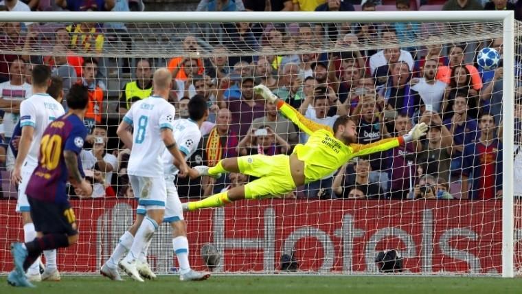 Lionel Messi marcó hat trick y guió la victoria del Barcelona
