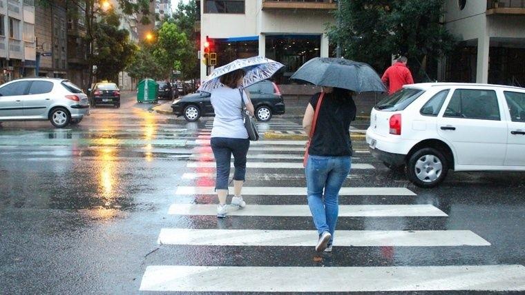 Prevén hasta 40 mm de precipitación acumulada — Alerta meteorológico