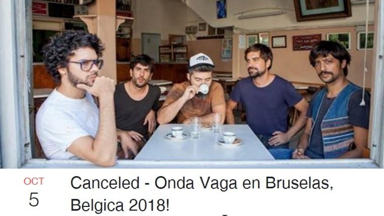 Tras las acusaciones de abuso, cancelan show de Onda Vaga en Bélgica