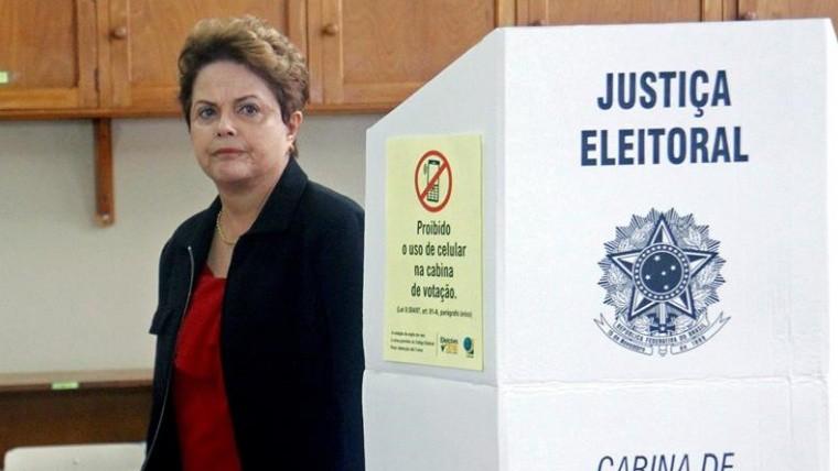 Expresidenta Dilma Rousseff quedó fuera del Senado tras las elecciones en Brasil