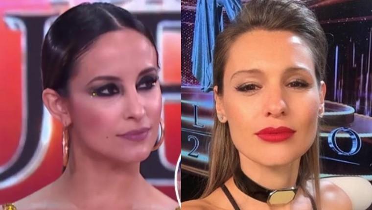 Pampita volvió al Bailando y culpó a Tinelli de su soltería