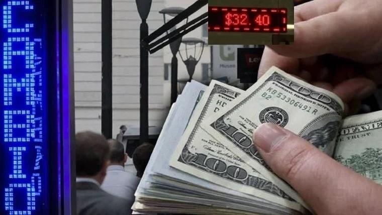 El dólar subió cinco centavos a $ 37,93