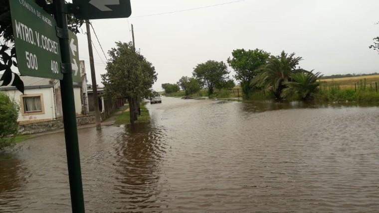 Las calles de Maciel parecen pequeños ríos.