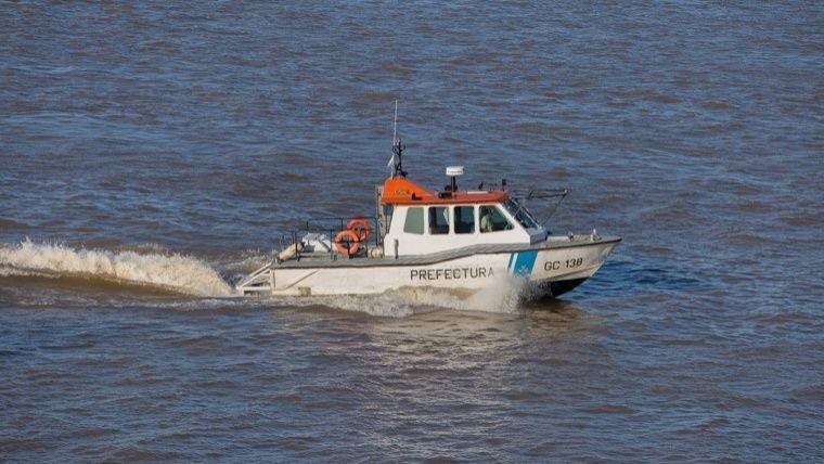 Prefectura halló el cuerpo en el río este viernes.