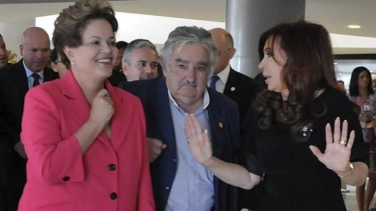 Con Cristina Fernández y Dilma Rousseff arranca la
