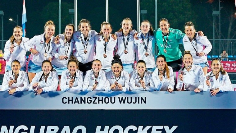 Las Leonas golearon a China y se quedaron con el bronce - Deportivo