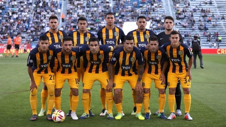 Los once canallas que iniciaron el encuentro ante Vélez.