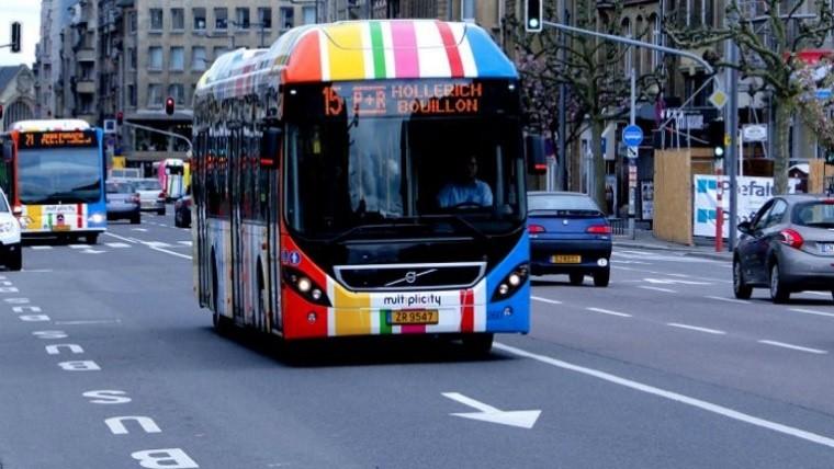 Pionero mundial: el transporte público en Luxemburgo será completamente gratuito desde 2020